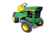 John Deere 120 lawn tractor photo