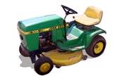 John Deere 108 lawn tractor photo