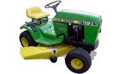 John Deere 112L lawn tractor photo