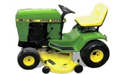 John Deere 116 lawn tractor photo