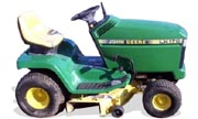 John Deere LX176 lawn tractor photo