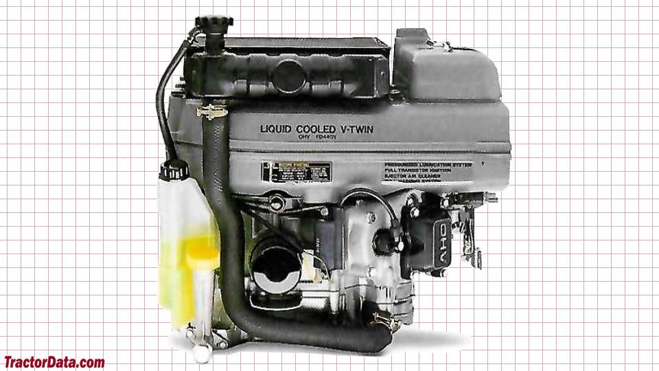 John Deere LX178 engine image