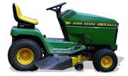 John Deere LX178 lawn tractor photo