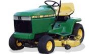 John Deere LX186 lawn tractor photo