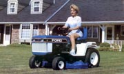 Ford YT-16H lawn tractor photo