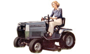White GT-1620 lawn tractor photo