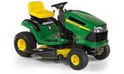 John Deere 125 lawn tractor photo