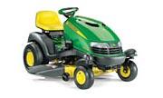 John Deere SST16 lawn tractor photo