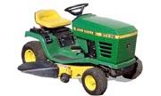 John Deere STX38 Yellow Deck lawn tractor photo