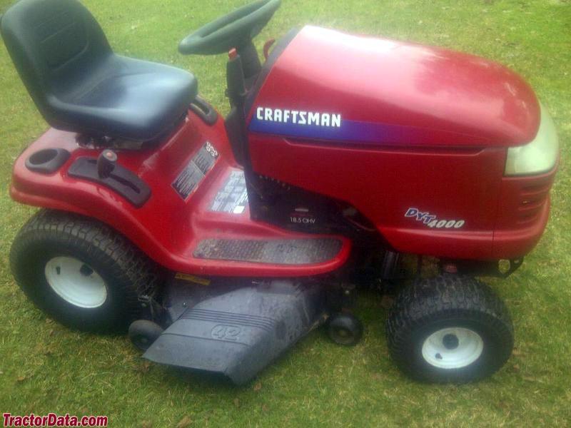 Craftsman 917.27382 DYT 4000