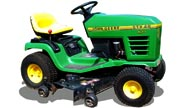 John Deere STX46 lawn tractor photo
