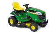John Deere D130 lawn tractor photo