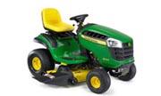 John Deere D140 lawn tractor photo