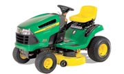 John Deere X110 lawn tractor photo