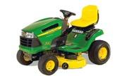 John Deere X120 lawn tractor photo