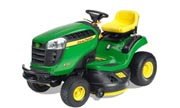 John Deere X125 lawn tractor photo