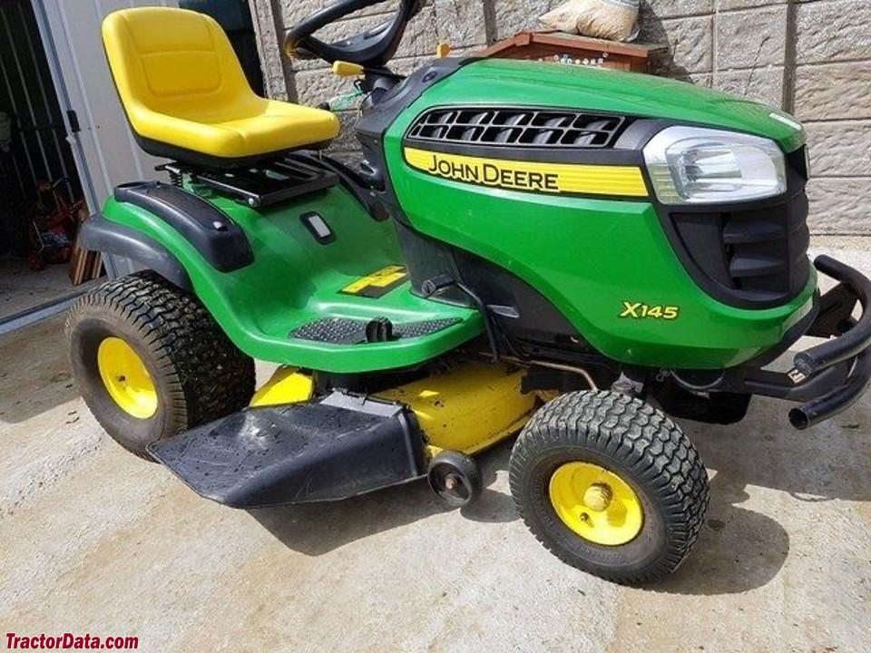 John Deere X145