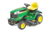 John Deere X165 lawn tractor photo