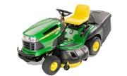 John Deere X130R lawn tractor photo