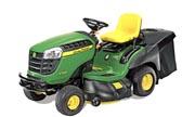 John Deere X155R lawn tractor photo