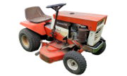 Simplicity Broadmoor 738 lawn tractor photo