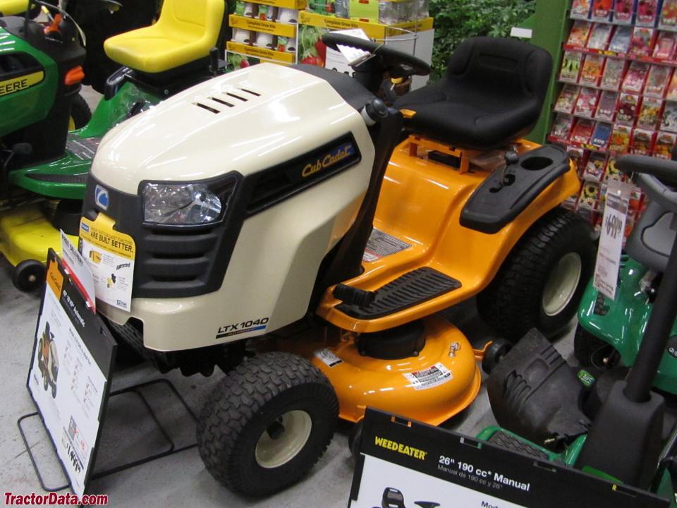 Tractordata Com Cub Cadet Ltx 1040 Tractor Information