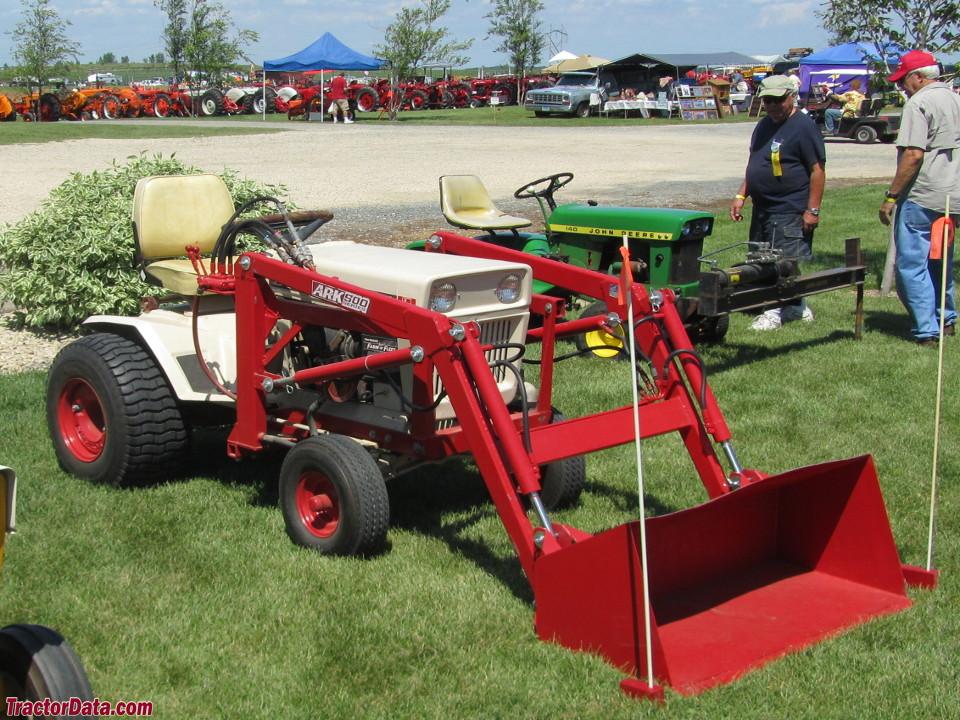 Bolens 1455 with front-end loader.