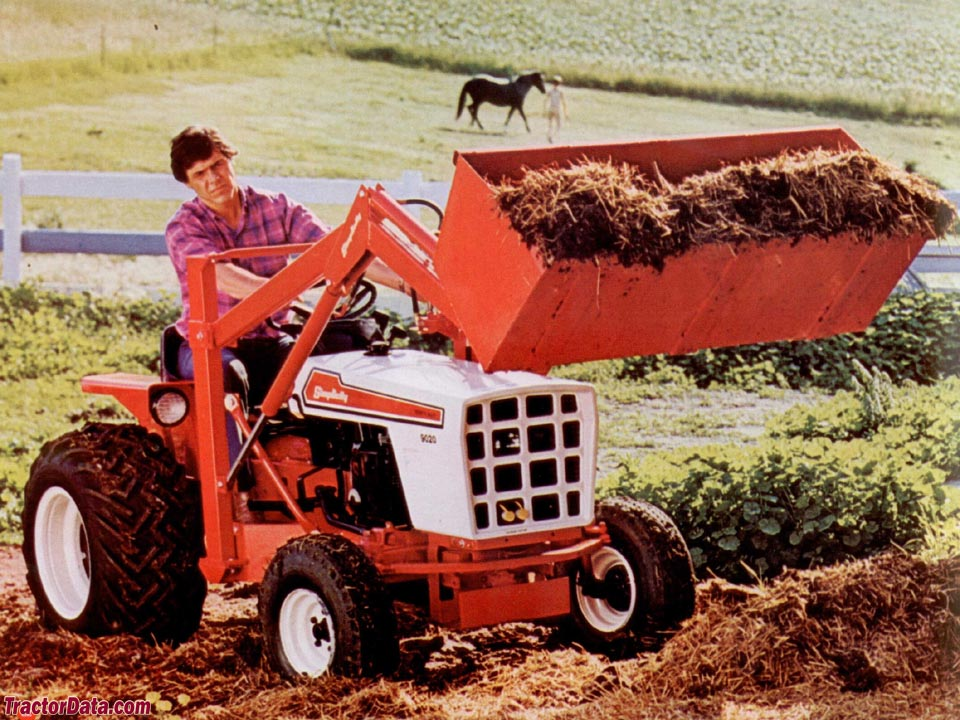 Simplicity 9020 with loader, from 1978 catalog.