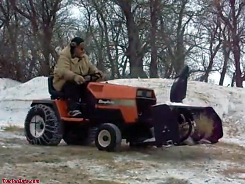1991 Simplicity Sunstar 20 with snowblower