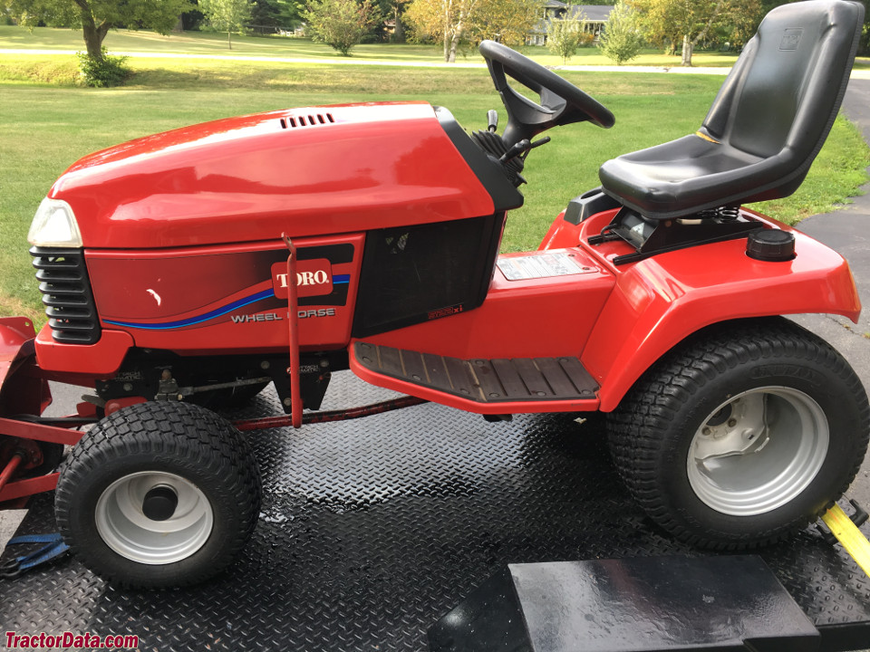 Toro 522xi, left side.
