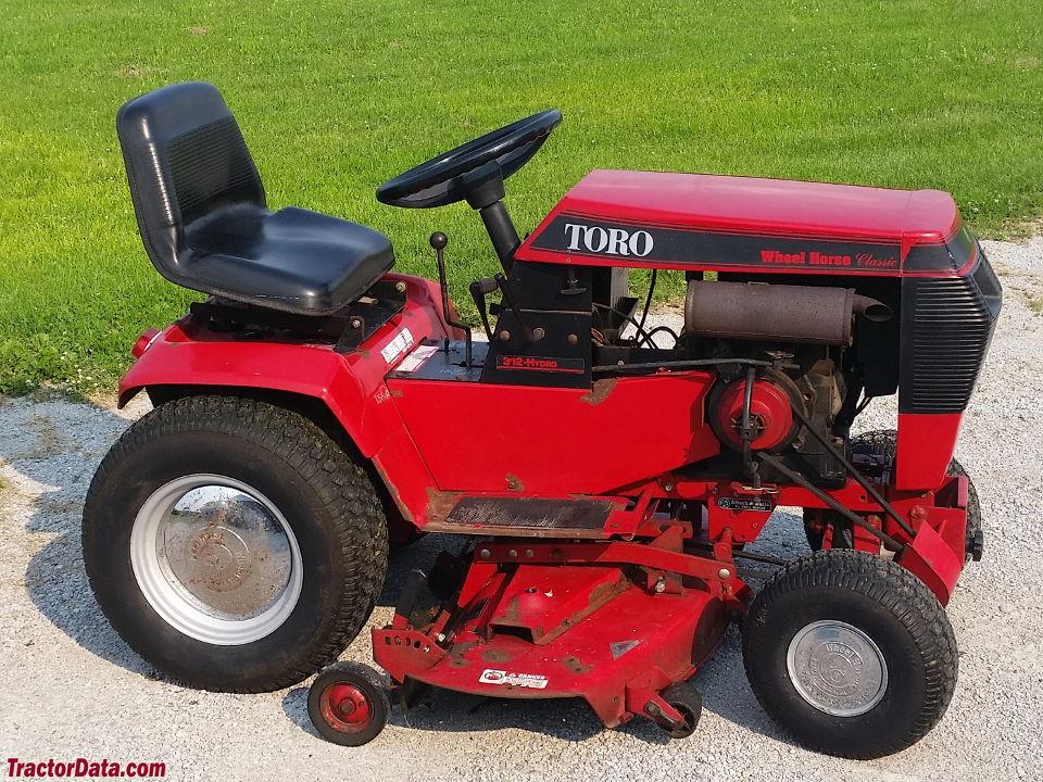 Tractordata Com Wheel Horse 312 H Tractor Information
