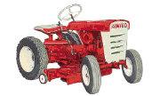 Amigo 1170 lawn tractor photo
