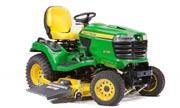 John Deere X738 lawn tractor photo