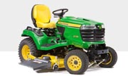 John Deere X739 lawn tractor photo