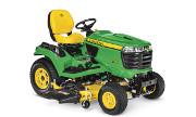 John Deere X754 lawn tractor photo