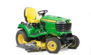 John Deere X758 lawn tractor photo