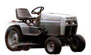 White Yard Boss Gt 1855 Lawn Tractor Photo