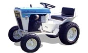 White Town & Country 114 lawn tractor photo