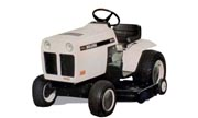 Bolens QT-16 1666 lawn tractor photo