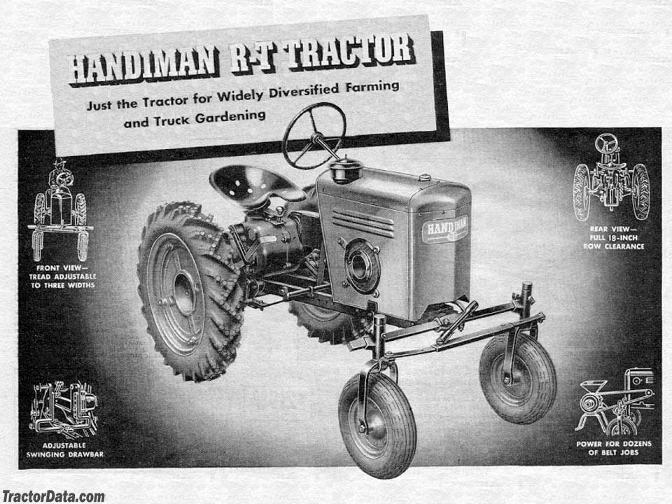 Sears Handiman sales brochure.