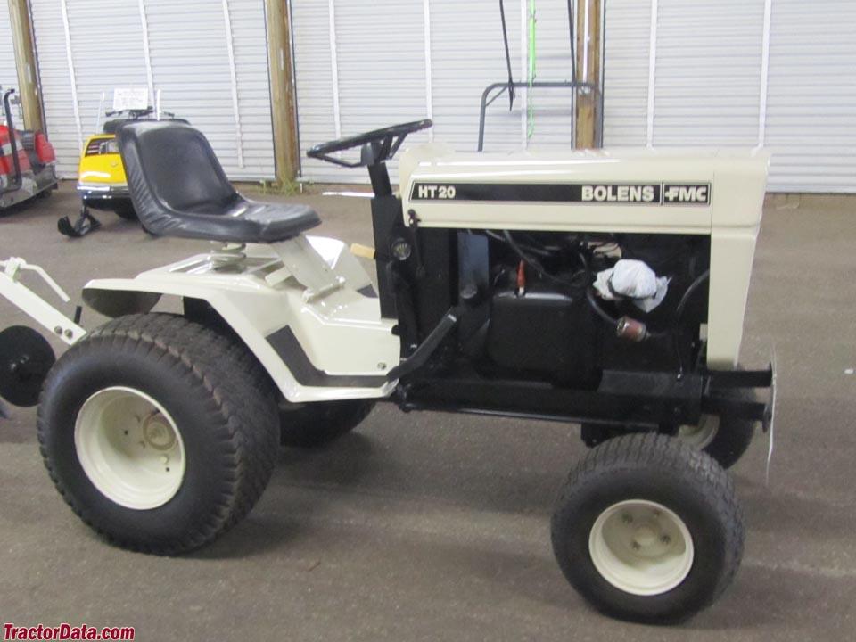 TractorData.com Bolens HT-20 tractor informationTractorData.com