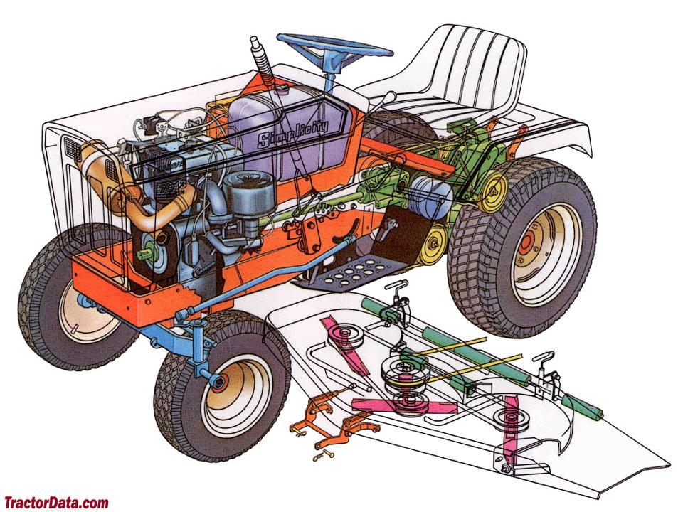Cutaway diagram of the Simplicity 7013 Baron.
