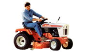 Simplicity 7014 lawn tractor photo