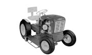 Springfield 62TE-7 lawn tractor photo