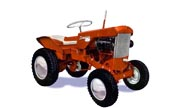 Simplicity 725 lawn tractor photo