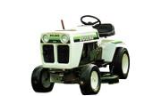 Bolens H16X1 1664 lawn tractor photo