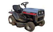 White LT-120 lawn tractor photo