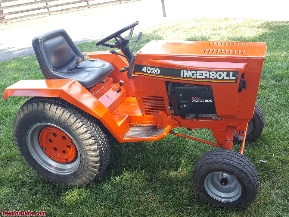 Ingersoll Garden Tractor Parts Diagram