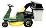 John Deere R72 lawn tractor photo