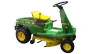 John Deere RX75 lawn tractor photo